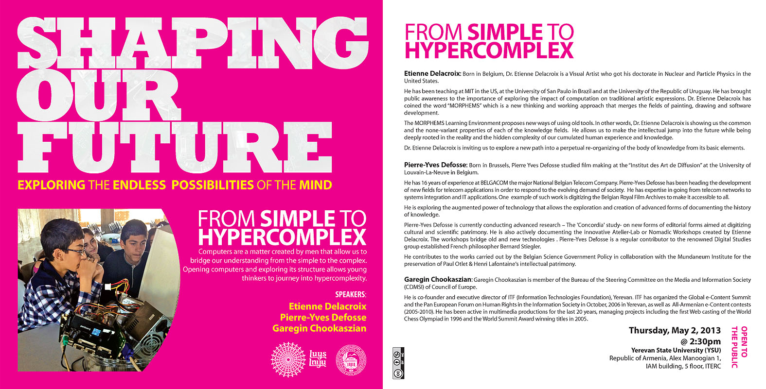 From simple to hypercomplex